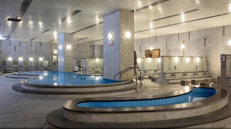 유성 호텔 대욕장