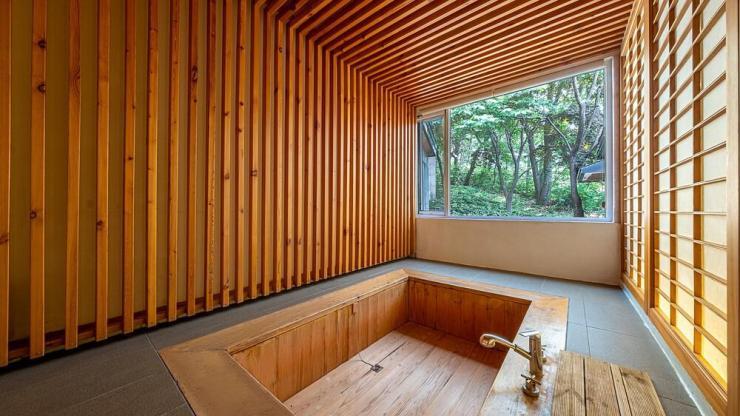 서울 근교 파티룸 단체 수용 가능 독채펜션 양평 생각속의 집 편백나무 족욕탕