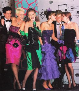 prom dresses from the late 80s