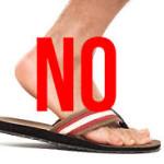 Say No to flip Flops
