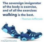 Walking is great
