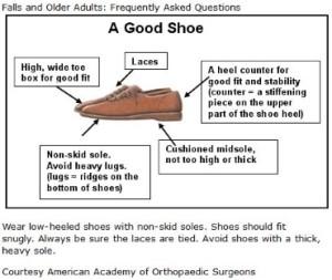 Shoe Selection Tips for Seniors