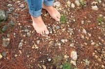 Hookworms On Feet Walking Barefoot