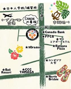 ALOHA周辺地図