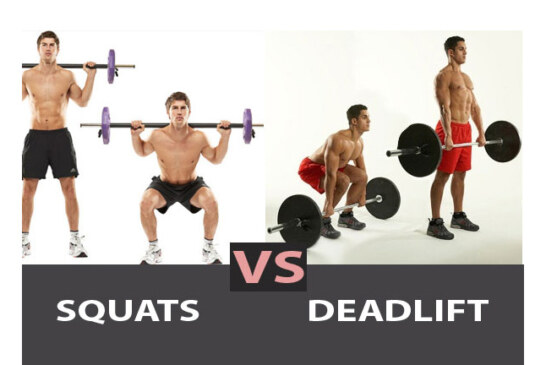 Deadlift vs Squat?