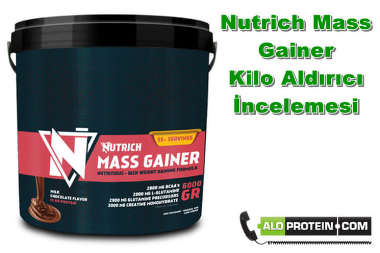 Nutrich Mass Gainer İnceleme