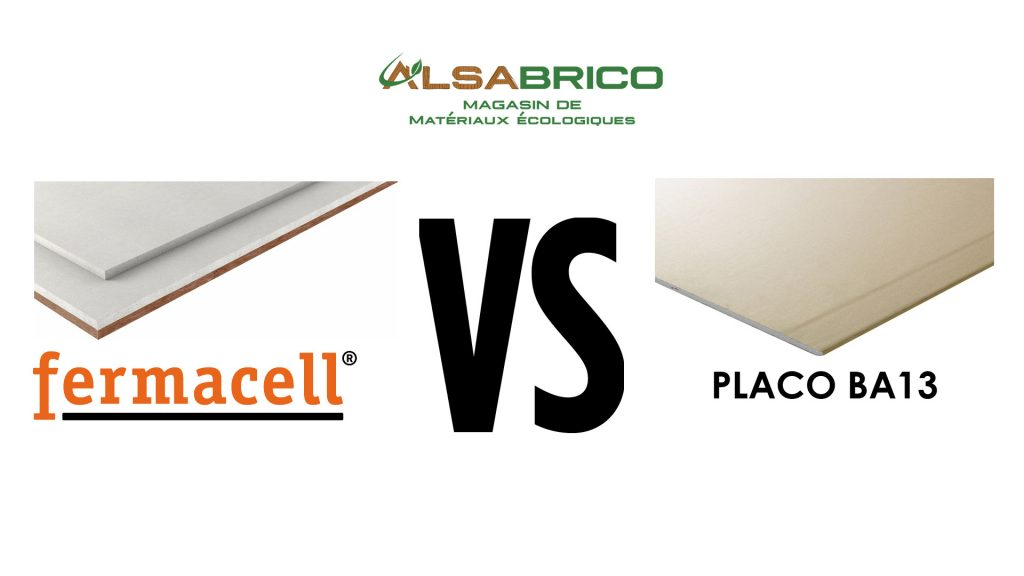 Comparatif Fermacell vs PlacoPlâtre - Alsabrico
