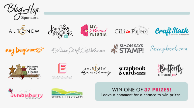 Altenew 7th Anniversary Blog Hop Day 2 + Giveaway (Over $1,400 in Total Prizes)