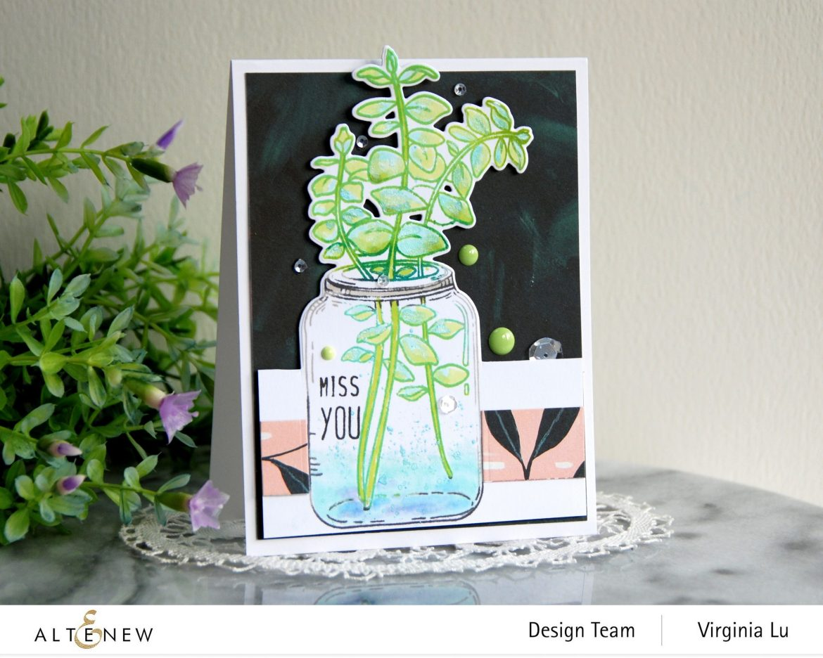Trendy Crafting Ideas with Eucalyptus Stamp and Die Set