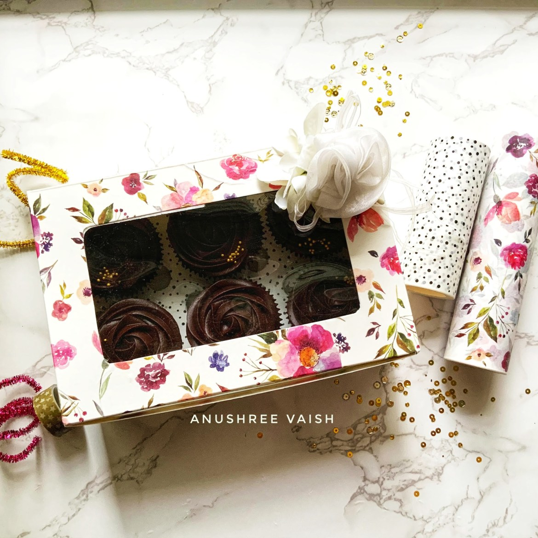 Altenew Washi Tape Contest Crafting Idea - DIY Cupcake Box