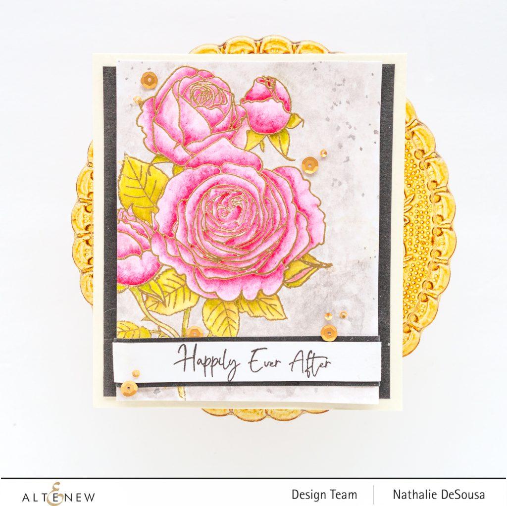 @Altenew_FRESH CUT ROSES Stamp set