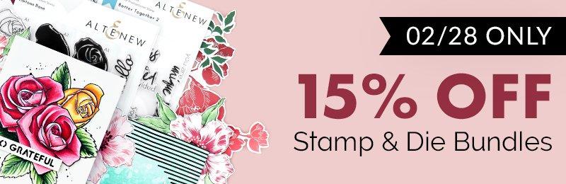 15% Off Stamp & Die Bundle