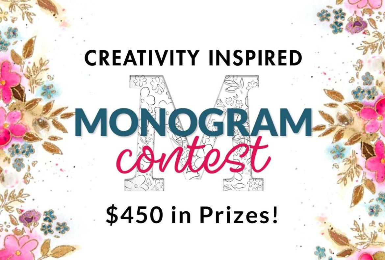 Altenew Creativity Inspired Memorable Monograms Contest
