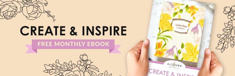 Free March Create & Inspire Ebook