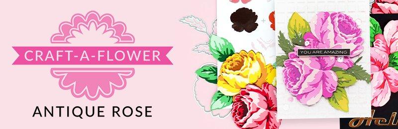 craft-a-flower antique rose
