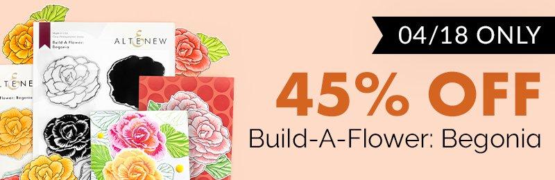 45% off BAF Begonia