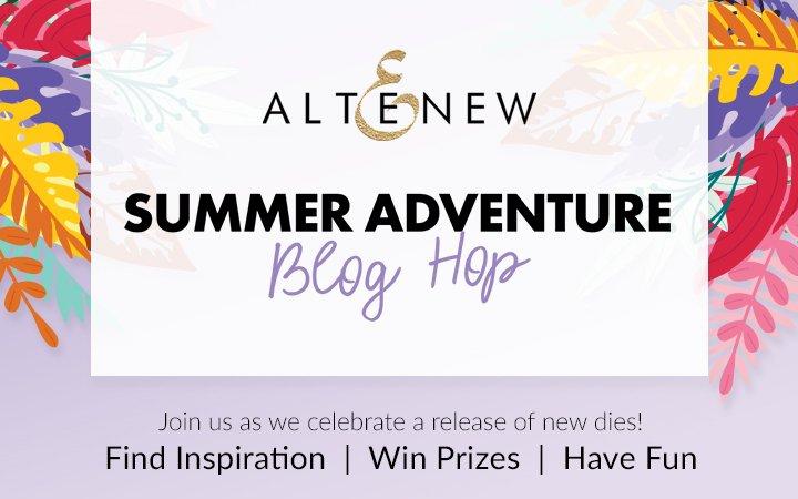 @altenew Sumer Adventure stand alone dies collection release