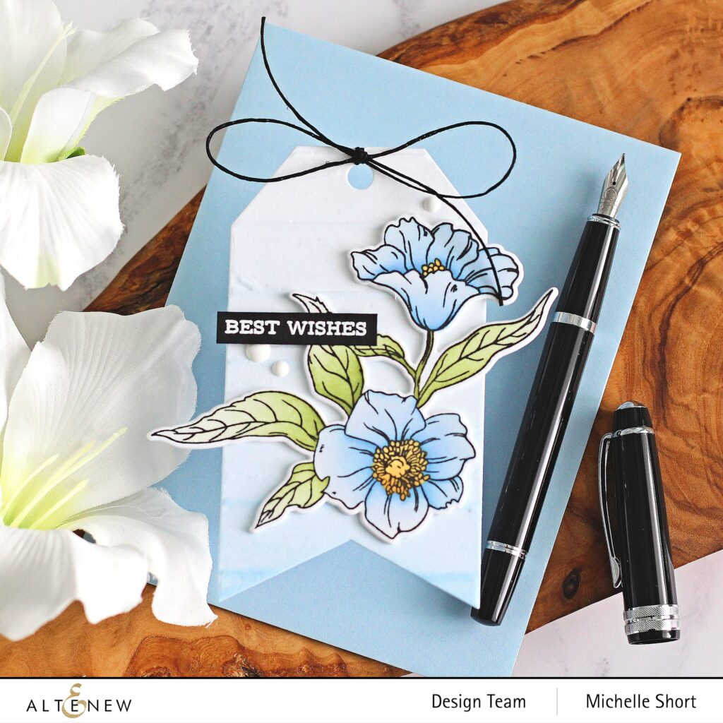 Altenew-Craft Your Life Project Kit Hello Beautiful-Terrific Tags Dies-Deck Planks 3D Embossing Folder-Sentiment Strips 2 Stamp
