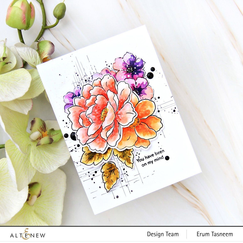 Altenew Craft Your Life Project Kit: Lush Garden   Erum Tasneem   @pr0digy0