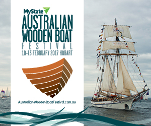 Photo courtesy of Australian Wooden Boat Festival Inc.