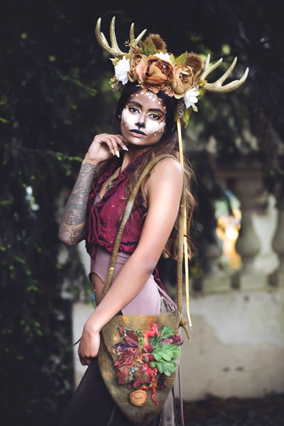 MAJESTIC: Priya as a deer.