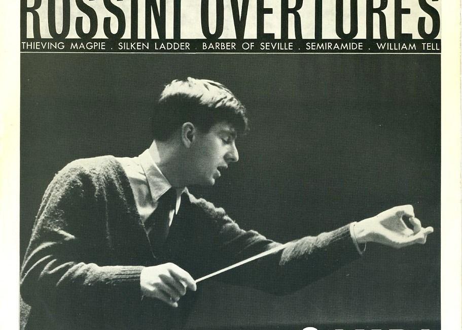 英 Decca SXL-2266☆ピエリーノ・ガンバ指揮ロンドン交響楽団 ロッシーニ:序曲集