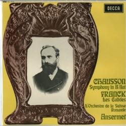 心に染みる美しいフランスのエスプリ ― アンセルメ指揮スイス・ロマンド管弦楽団 ショーソン・交響曲変ロ長調、フランク・交響詩「アイオリスの人々」