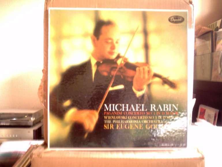 US CAPITOLP-8534 - Micheal Rabin  - Paganini & Wieniawski
