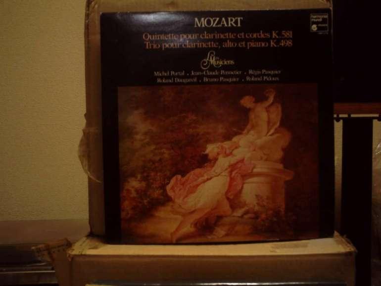 MOZART TRIO PASQUIER PENNETIER PORTAL LP Harmonia mundi HM 1118