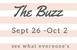 the weekly buzz sept 26 - october 2nd, 2016