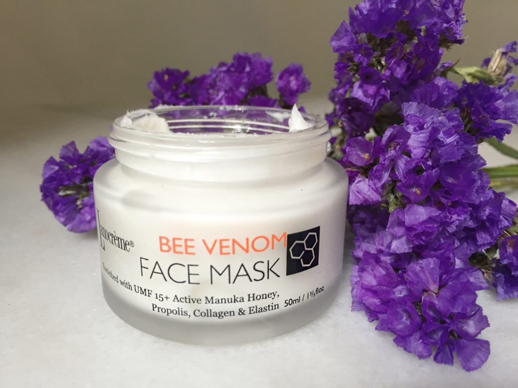 lanocreme bee venom face mask