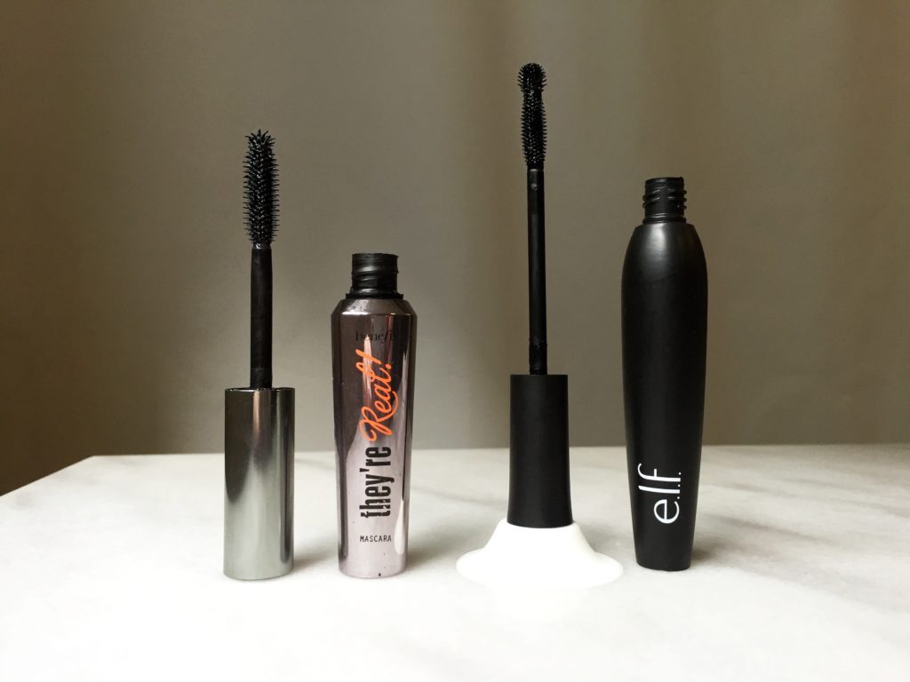 They're Real vs ELF mascara
