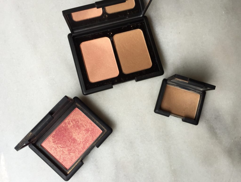 NARs vs ELF blush and bronzer