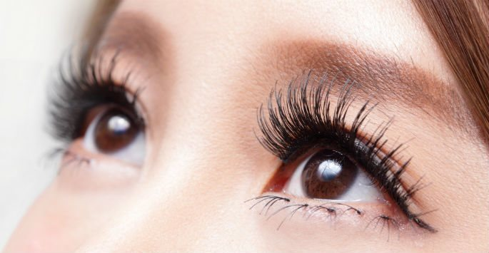 """fe2ba4f8c44 How to Spot Lash Extensions, Falsies, Latisse & Other """"Enhanced ..."""