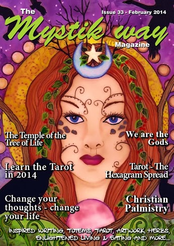 mystik way magazine 33 cover