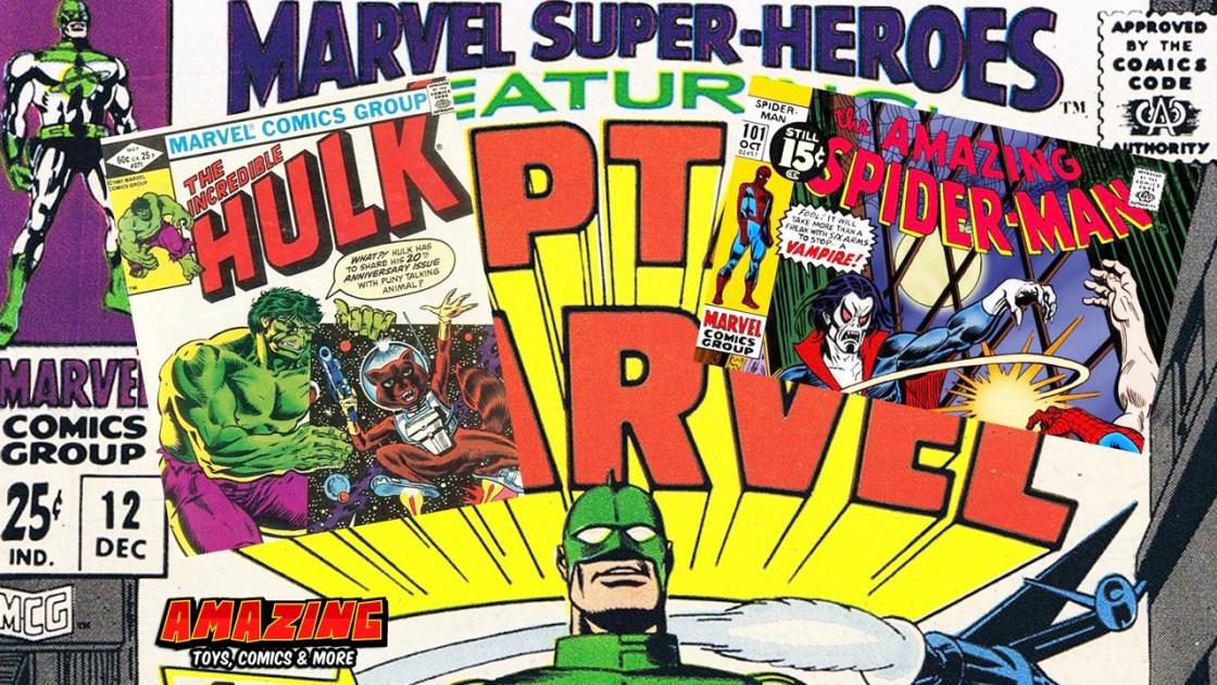 Marvels erschwingliche Erstauftritte