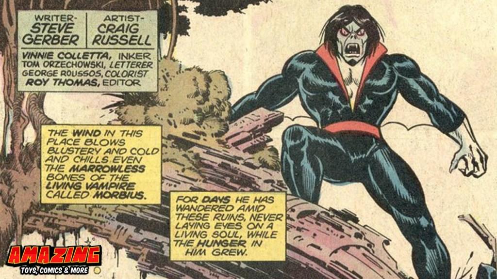Marvels lebendiger Vampir Morbius