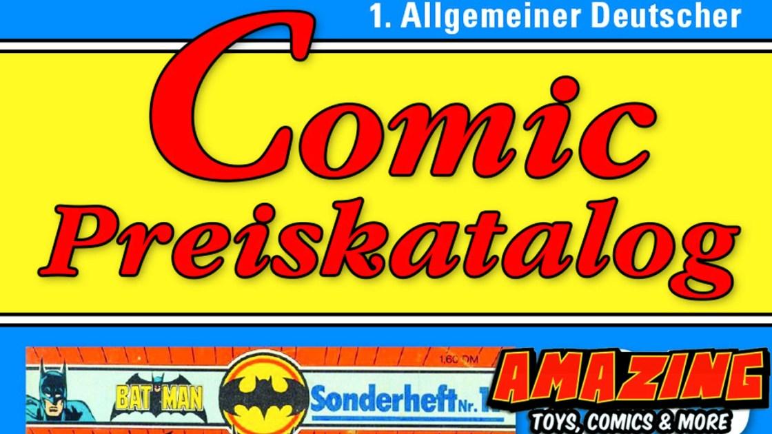 Der superspezielle Marktreport für den Comic Preiskatalog