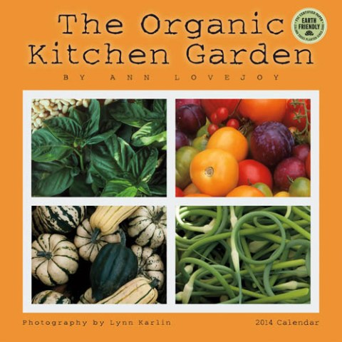 2014 The Organic Kitchen Garden Wall Calendar