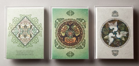 Celtic Mandala Holiday Cards