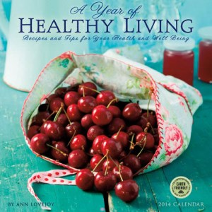 Year of Healthy Living 2014 wall calendar