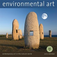 2015 Environmental Art wall calendar