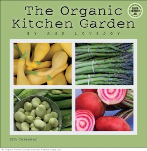 Organic Kitchen Garden 2015 wall calendar