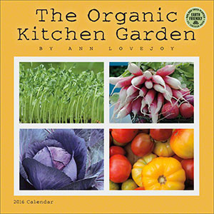 Organic Kitchen Garden 2016 wall calendar