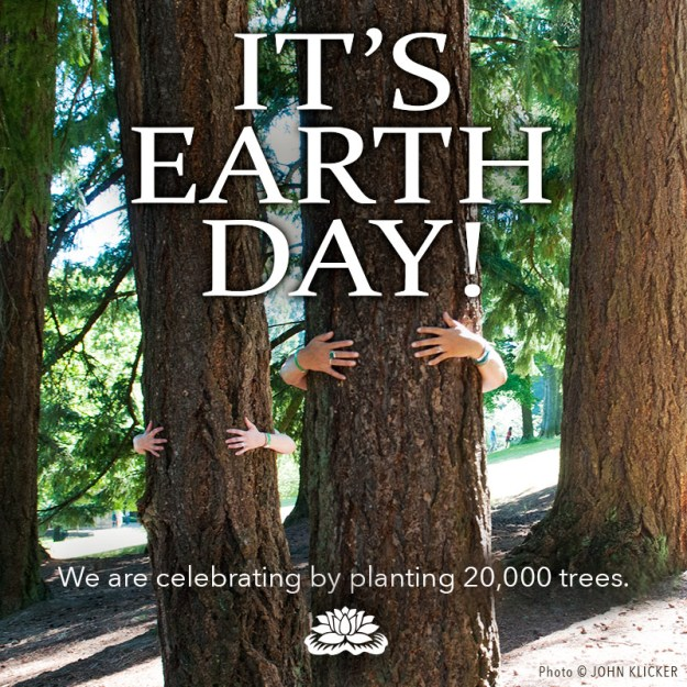 Earth Day 20,000 trees
