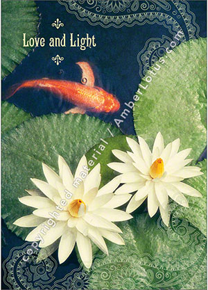 Love and Light greeting card from our Illuminating Spirit card series. Click image for more info.