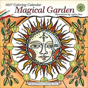 Magical Garden wall calendar