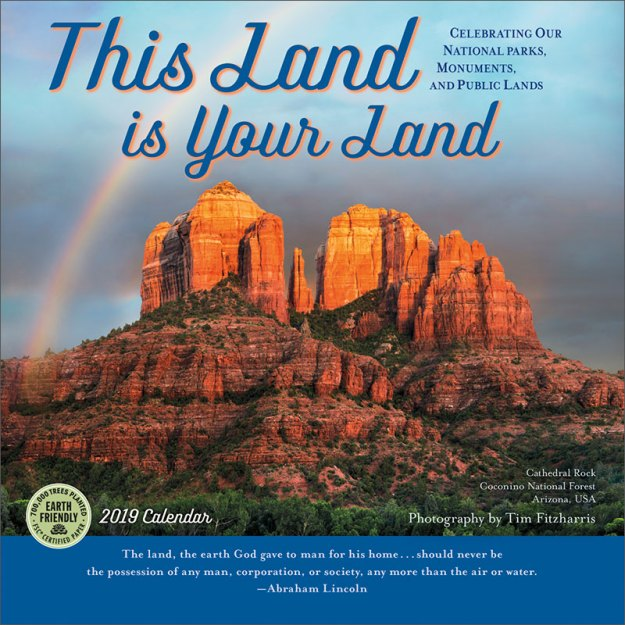 This Land Is Your Land 2019 Wall Calendar