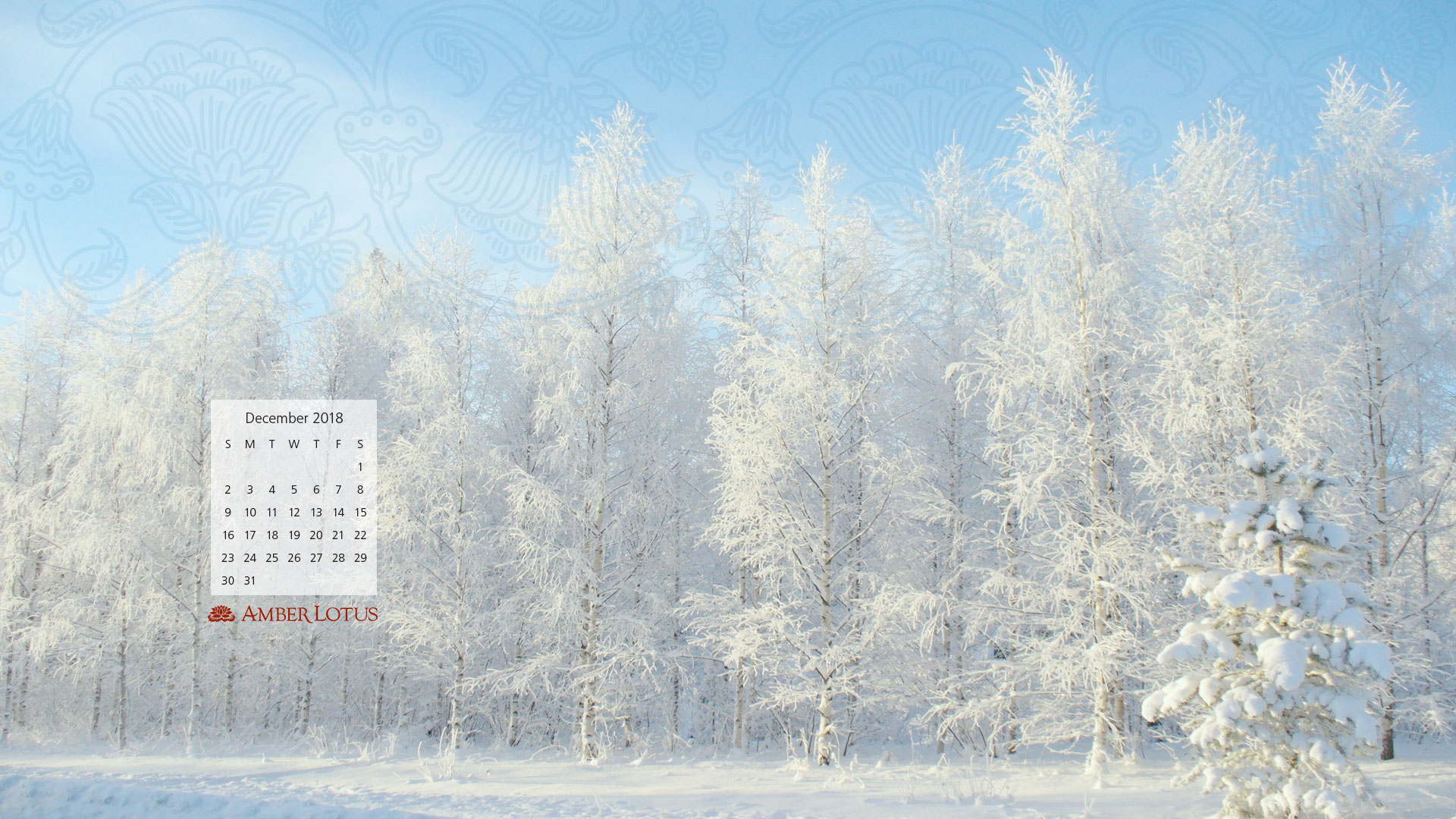 Desktop Wallpaper Calendar December 2018 Free To
