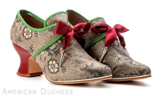 American Duchess custom made 18th century shoes